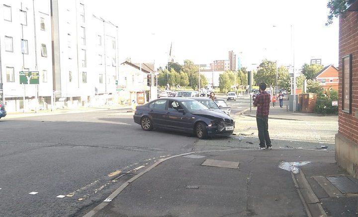 The scene in North Road Pic: Blog Preston