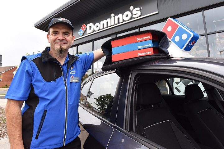 David Gregory, delivery driver at Domino's Preston West