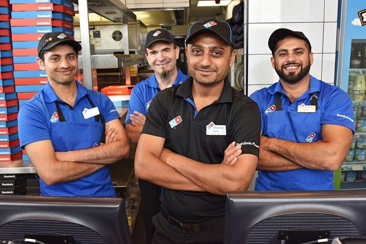 Zaid Mohiuddin, David Gregory, Emran Patel and Arbaz Ahmedsaadat