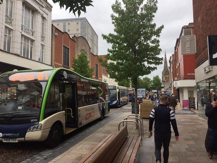 Fishergate was busy with traffic following the collision Pic: Ryan Gillett