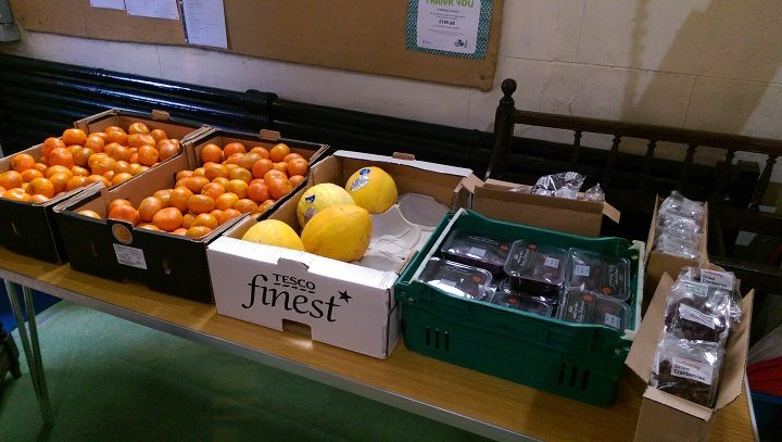 Oranges, melons and more fruit on offer Pic: Blog Preston
