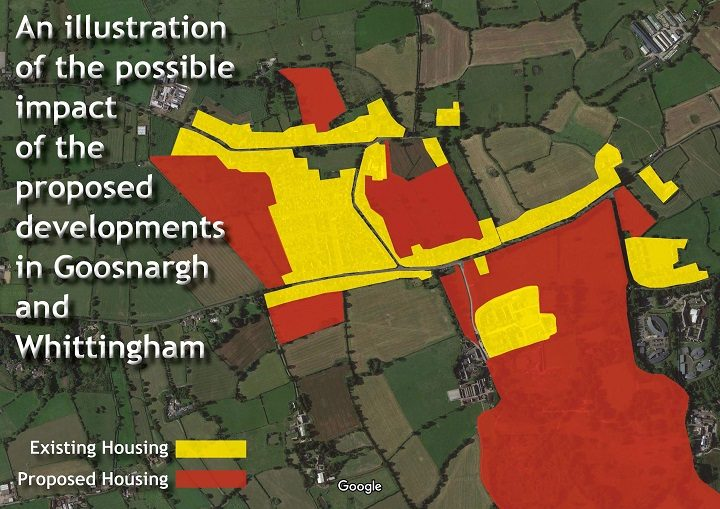 Goosnargh and Whittingham development areas