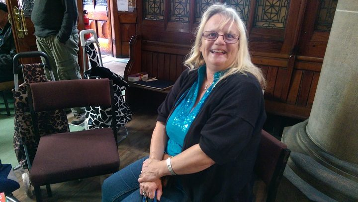 Karen goes to the market to collect food for her daughter and five grandchildren Pic: Blog Preston