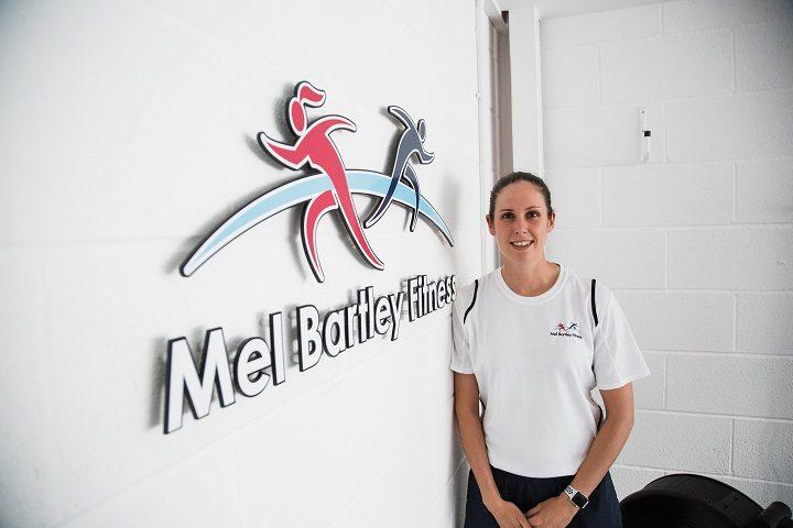 Mel Bartley inside her new business premises