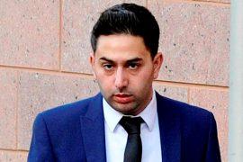 Mohmed Salman Patel arrives at Preston Crown Court Pic: SWNS