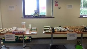 Some of the food and drink available at Sion Park Hub