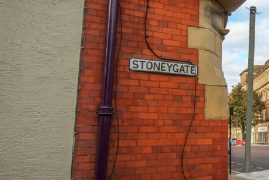 Stoneygate where the attack is alleged to have taken place