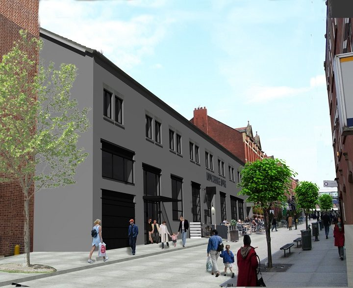 An artist impression for how Union Lofts may look