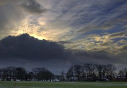 Storm clouds over Ashton-on-Ribble Pic: Tony Worrall