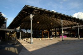 The new Preston Indoor Market is under the Victorian canopy of the outdoor market Pic: Tony Worrall