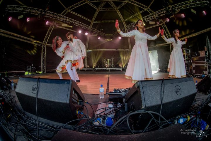 Sufi Zen performing on stage at Avenham Park Pic: Michael Porter