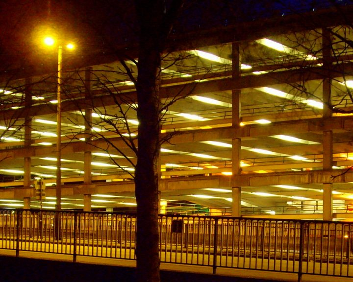 The Market car park where the incident is said to have taken place Pic: Tony Worrall