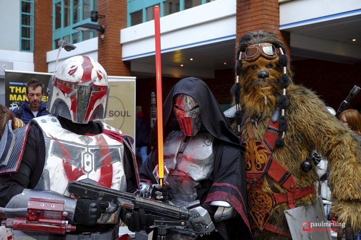 Security at the Guild Hall was tightened up for the event! Pic: Paul Melling