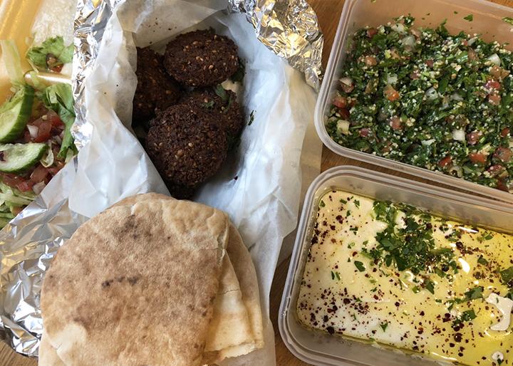 Vegan bits and bobs from Jaffa