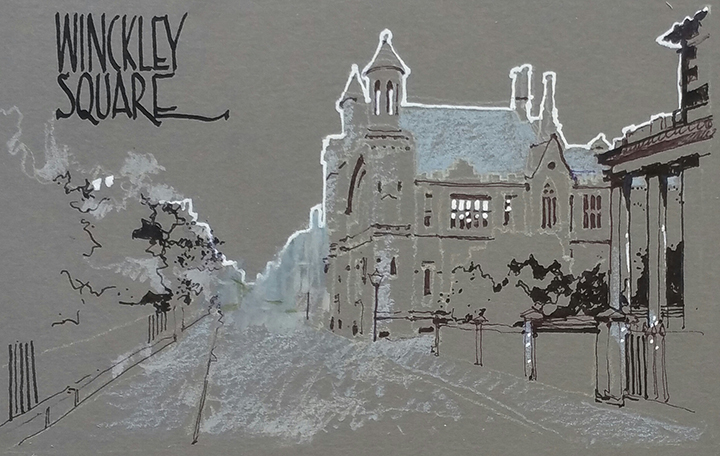 Winckley Square - The Big Draw Festival