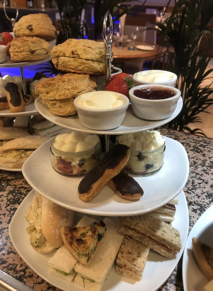 A Palm Court afternoon tea