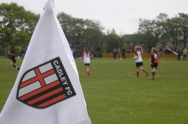 Cadley FC now sees more than 400 boys and girls playing in their teams
