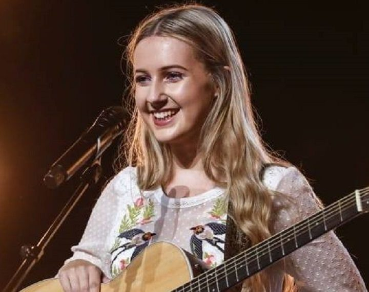 Charlotte Lilly on the X Factor