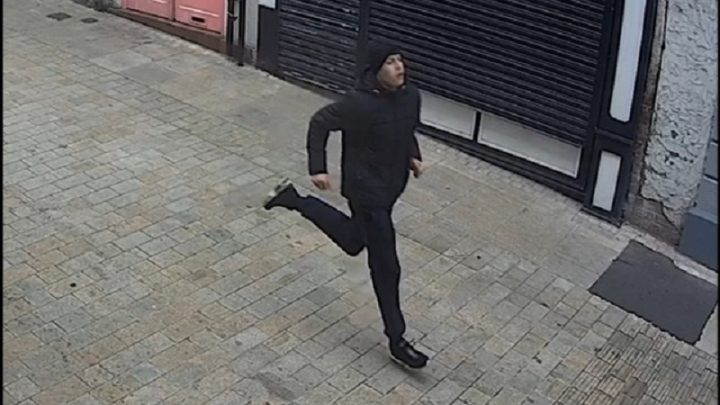 A man seen on CCTV released by police