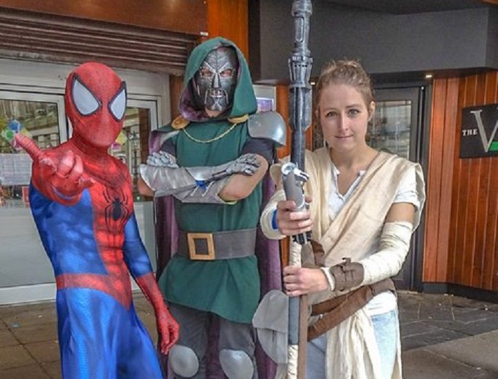 Expect to see plenty of sci-fi outfits in Preston on the day Pic: Paul Melling