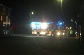 Fire crews in Eldon Street Pic: Nimesh Patel
