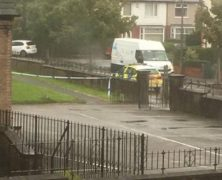 Police on the scene in Ribbleton Pic: Stephen Melling