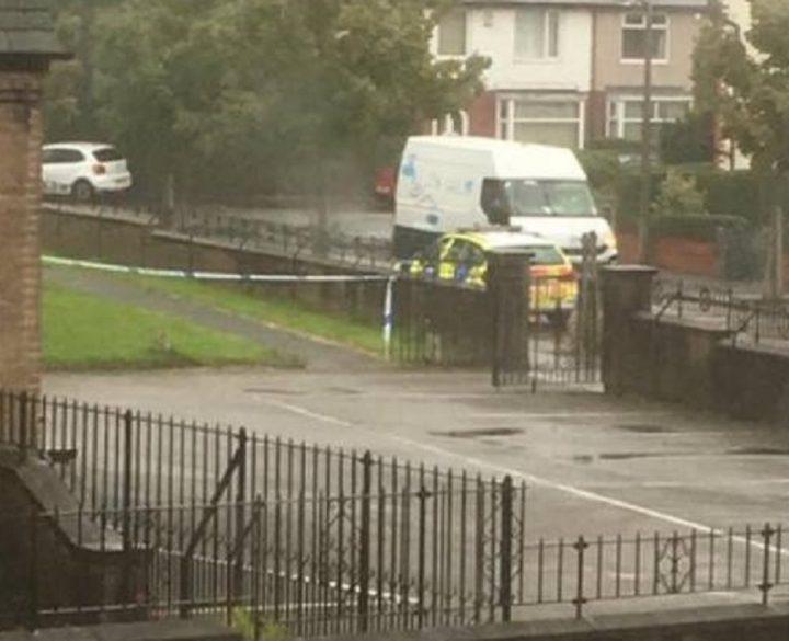 Police on the scene in Ribbleton Pic: Stephen Melling