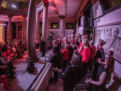The One Voice Community Choir performing at the previous Harris Live concerts Pic: Michael Porter/Preston Photographic Society