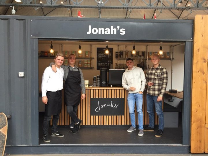Jonah's coffee team
