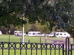 The caravans in London Road