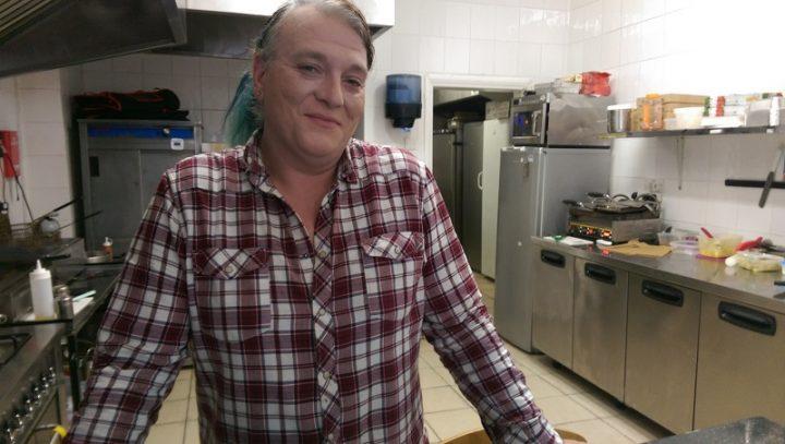 Pat Lopes in the Novus Pizza kitchen Pic: Blog Preston