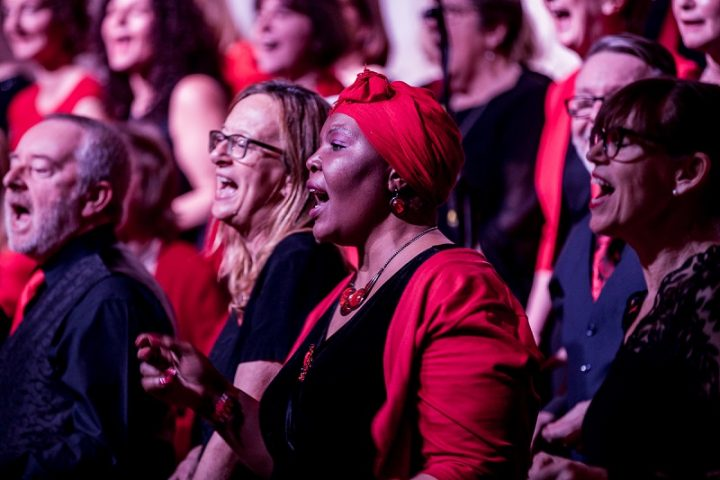 One Voice Community Choir in action