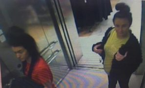 Picture released by police in connection with Primark fraud