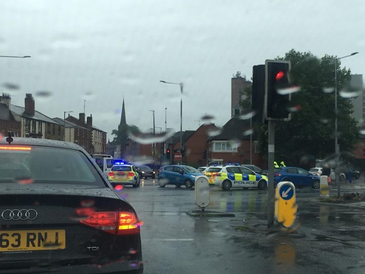 The scene in Ringway at lunchtime Pic: Katelyn Hobson