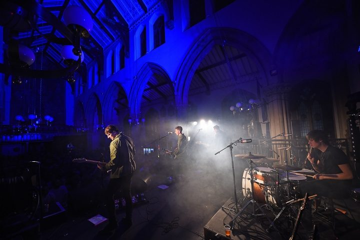 The Sherlocks played a packed out Preston Minster