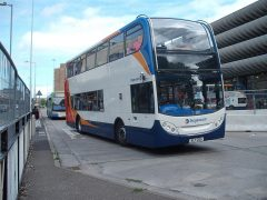 A Stagecoach bus service at the Bus Station Pic: Ian Simpson