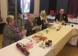 Guests enjoying last year's Find a Friend Christmas Dinner