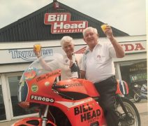 Bill Head and his wife Norah