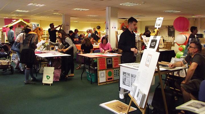 Previous print fair at the PPL