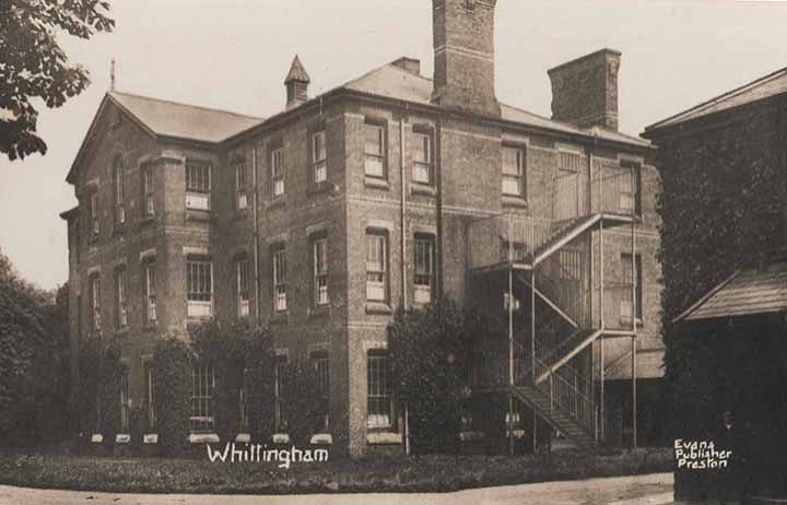 Whittingham Postcard courtesy Geoff Speight