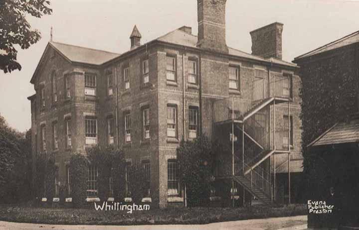 Whittingham Postcard courtesy Geoff Speight
