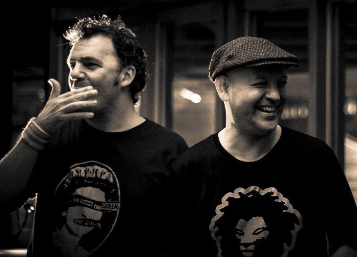 Graham Daniels and Mark Vidler