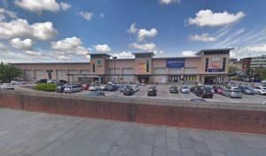 Aldi car park in Corporation Street Pic: Google