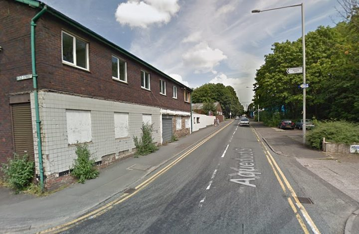 Aqueduct Street was closed off briefly while paramedics attended Pic: Google