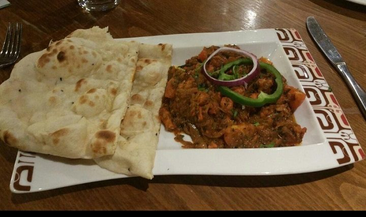 Solid naan action at Bangla Fusion