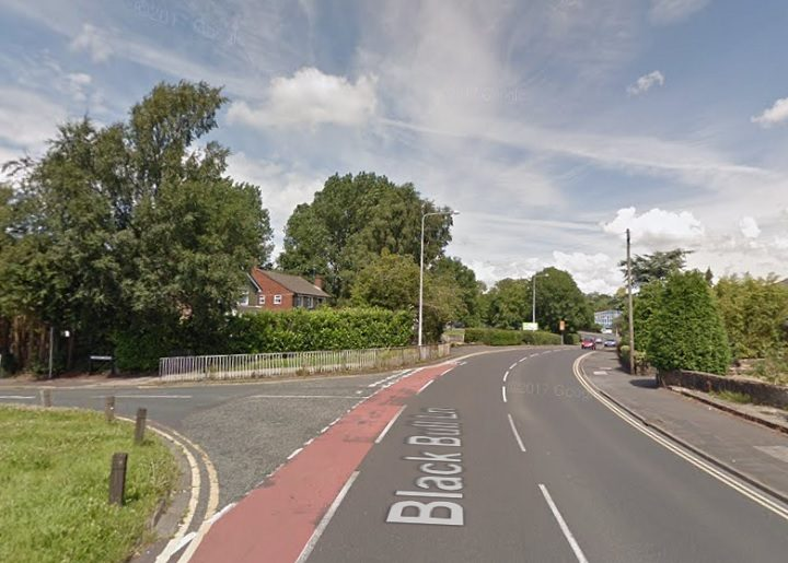 Black Bull Lane will be closed from the junction with Conway Drive Pic: Google