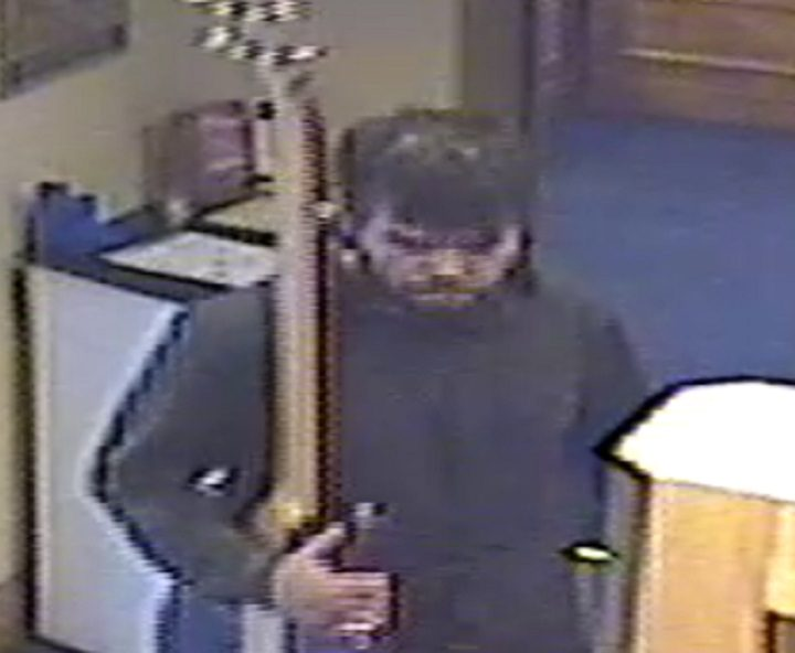 Police want to speak to the man pictured in connection with the incident