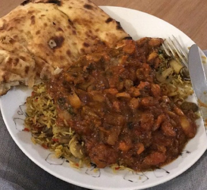 A curry from Delhi 8