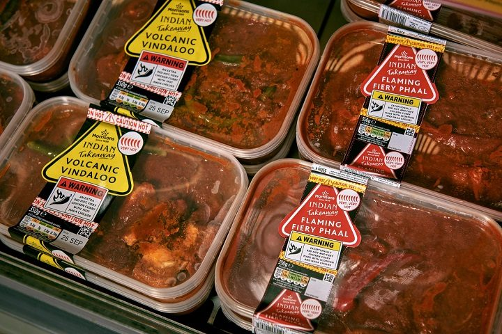 Morrisons has introduced the new curry after complaints its range wasn't spicy enough Pic: Morrisons