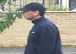 Police want to speak to this man in connection with the Fulwood incident